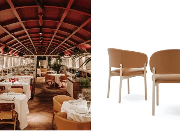 Silla con brazos de la colección RC Wood - Muebles de diseño - Blasco&Vila