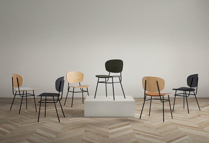 Sillas Fosca - Muebles de diseño - Blasco&Vila