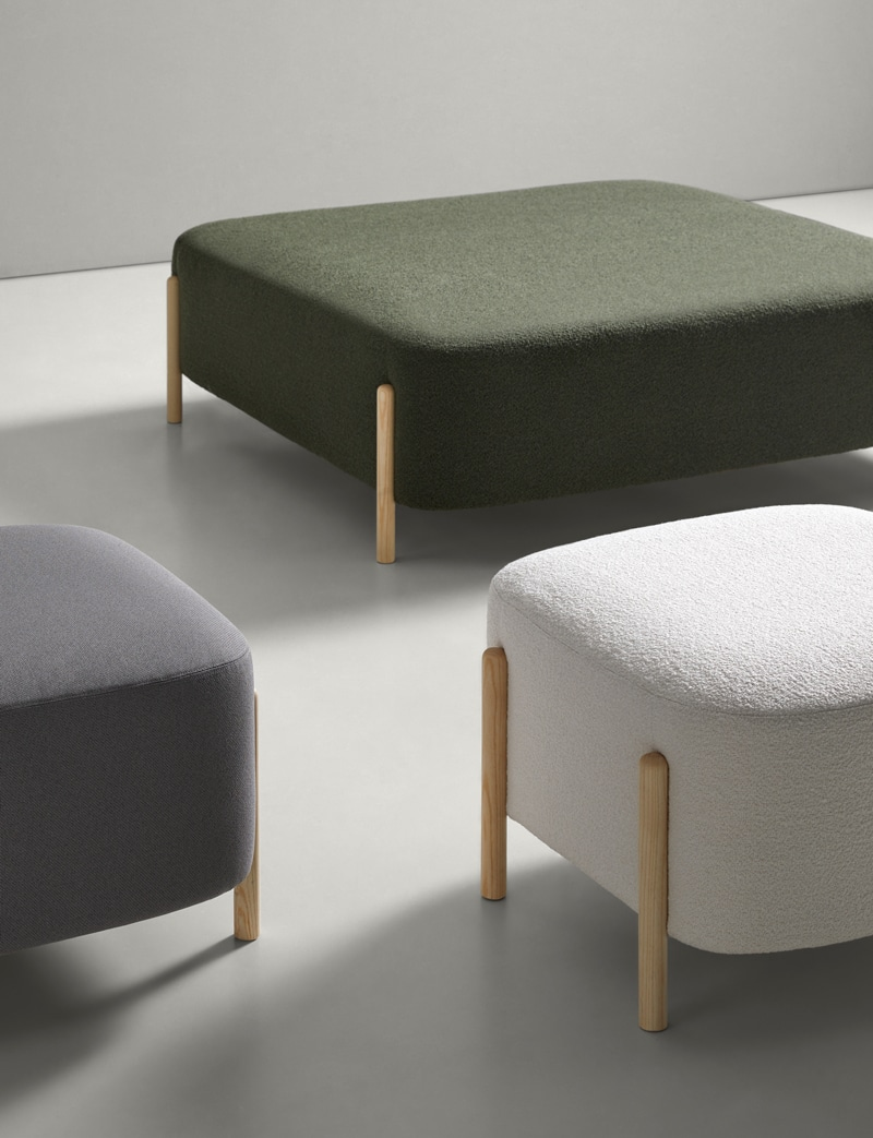 Banquetas RC Wood - Muebles de diseño - Blasco&Vila