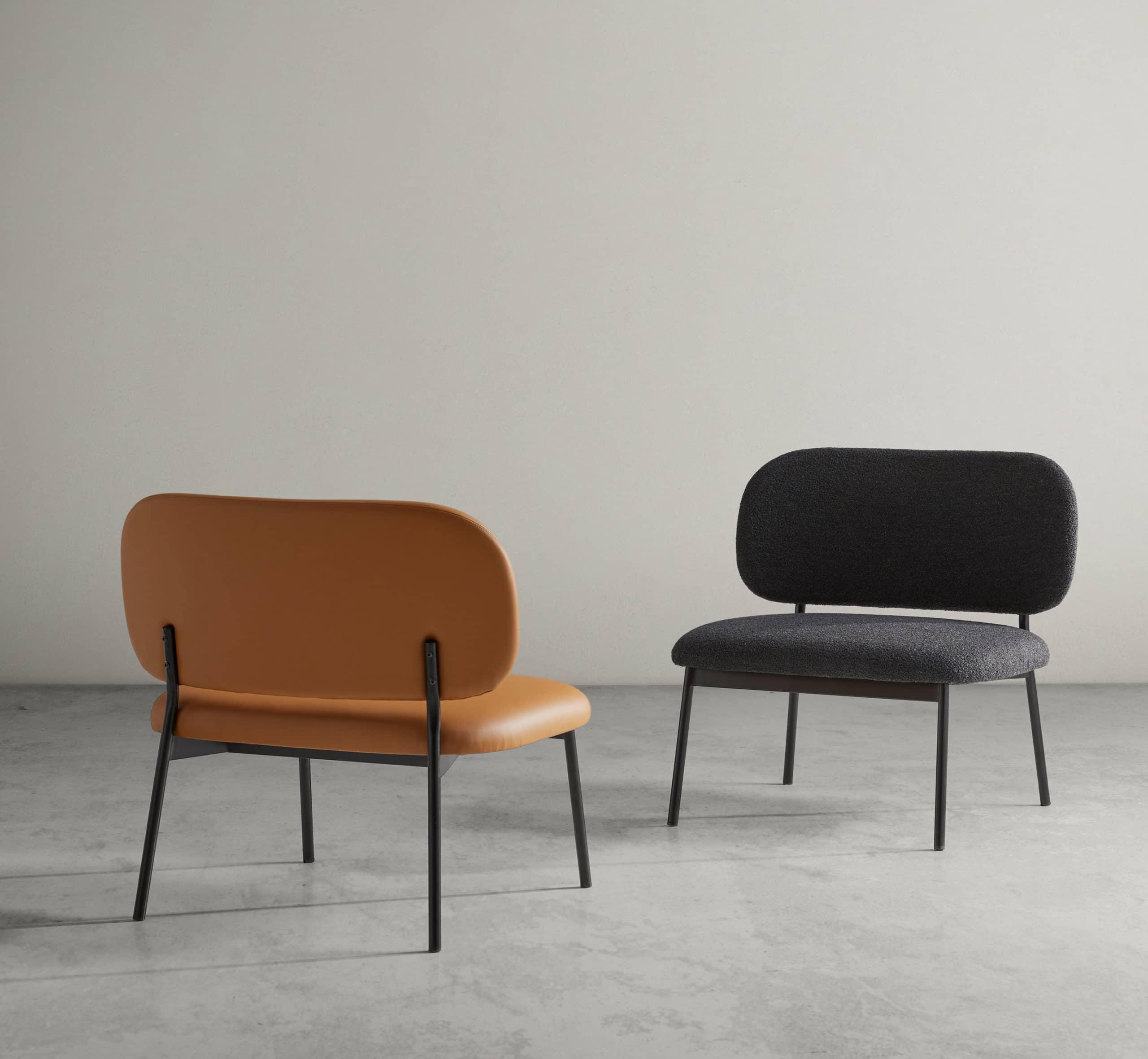 Lobby Chair RC Metal - Blasco&Vila - Muebles de diseño
