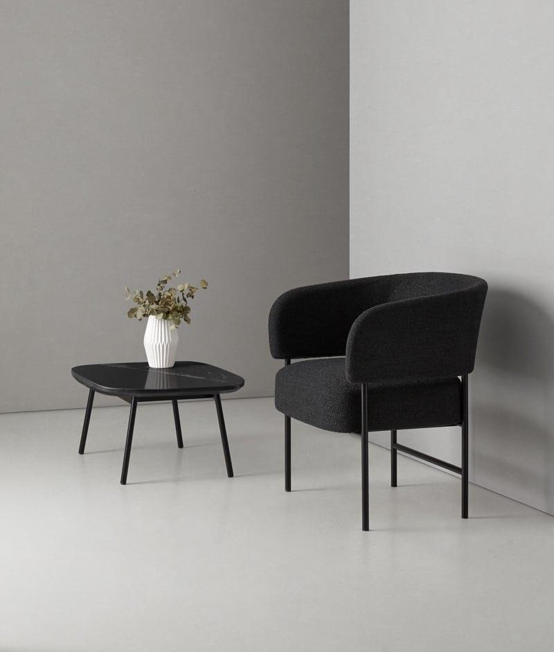 Foto ambiente Mesa auxiliar de la colección RC METAL - Muebles de diseño - Blasco&Vila