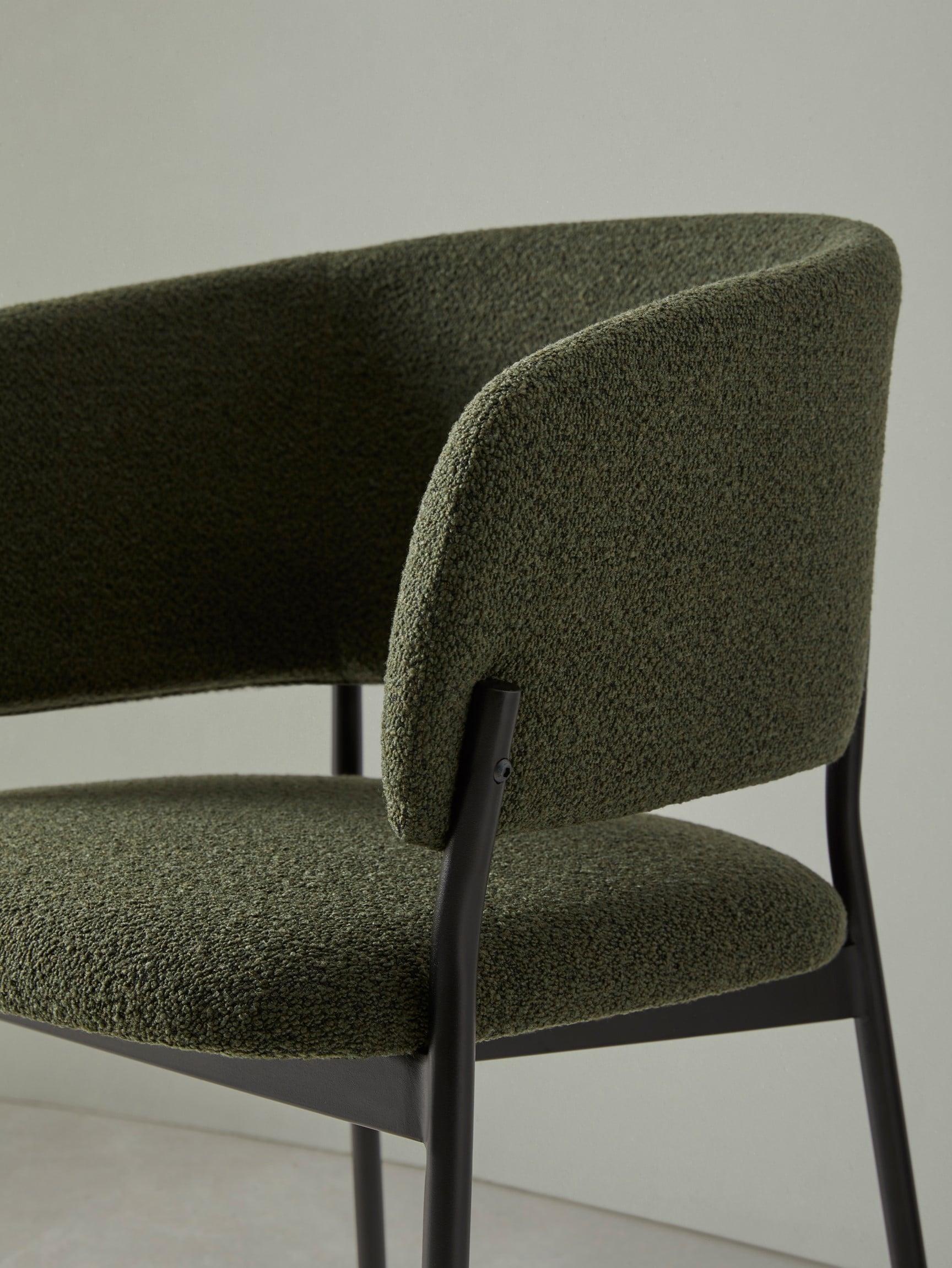 Silla con brazos de la colección RC Metal - Muebles de diseño - Blasco&Vila